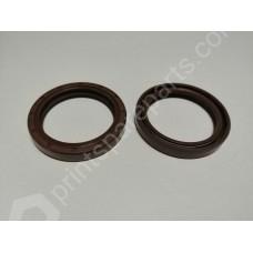 Shaft-sealing ring