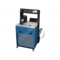 Dampening solution cooling unit