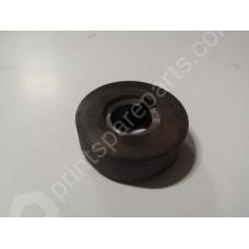 Side lay knurled wheel